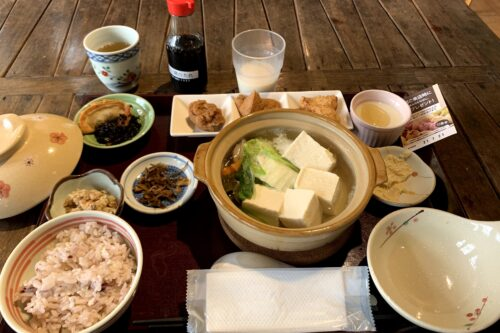 湯豆腐ランチ